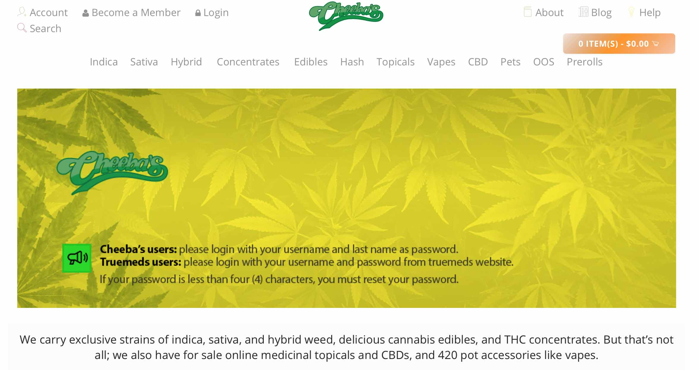Cheebas Review + 25% Off Coupon Code - Canadian Online Dispensary Guide