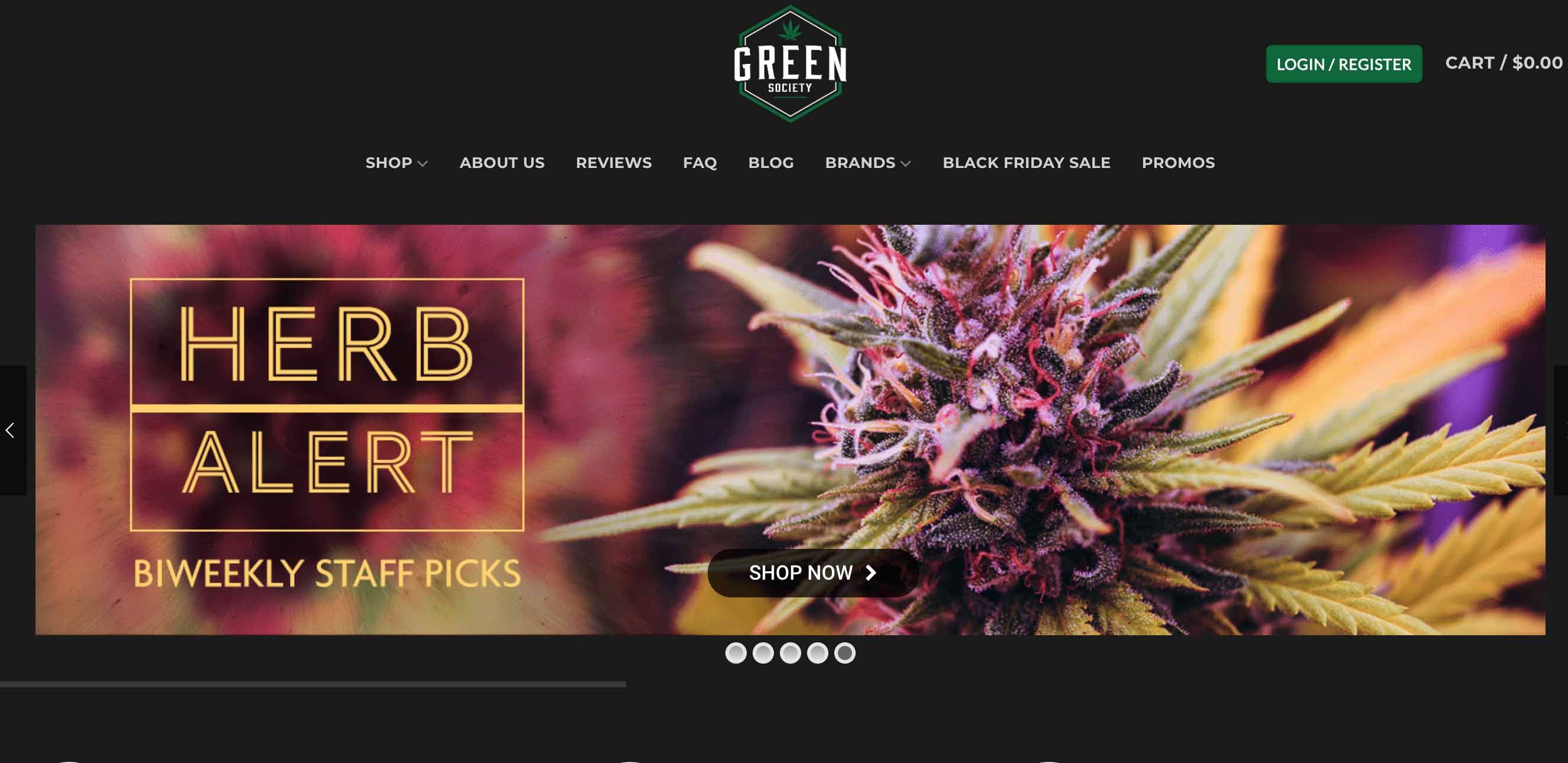 review of Green Society online dispensary