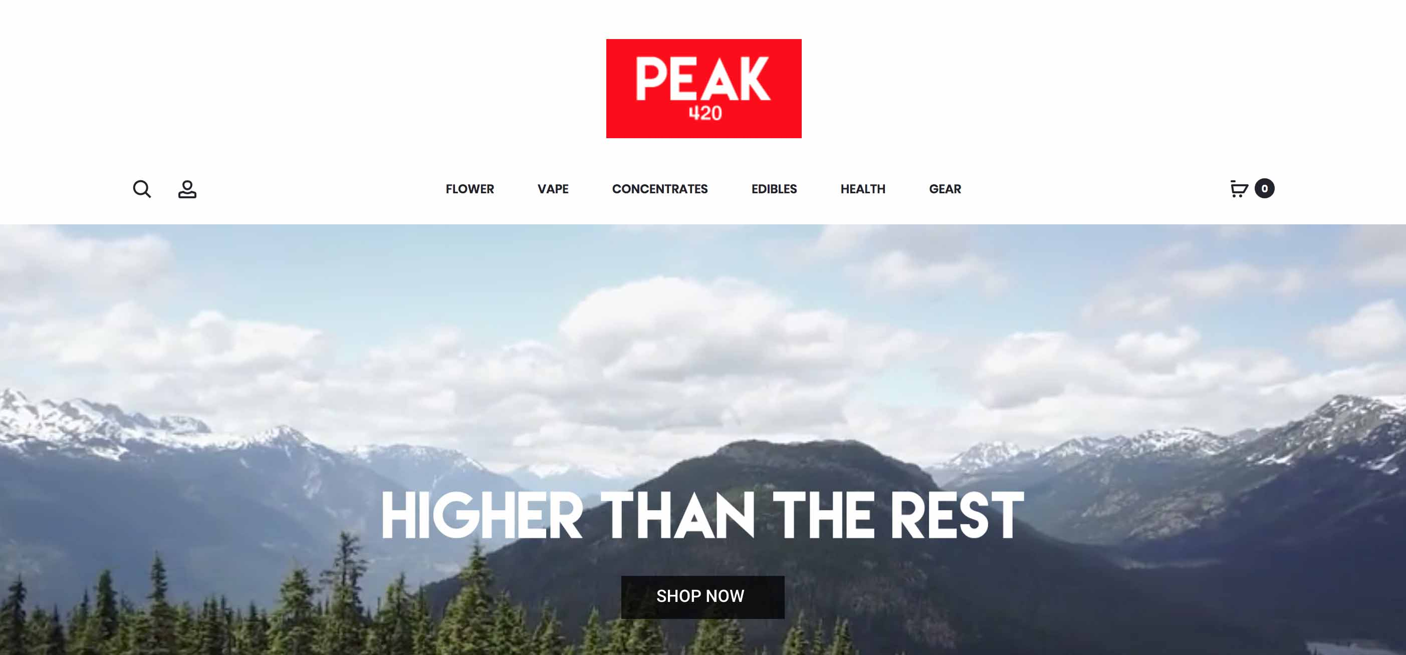 Review of Peak 420 online dispensary