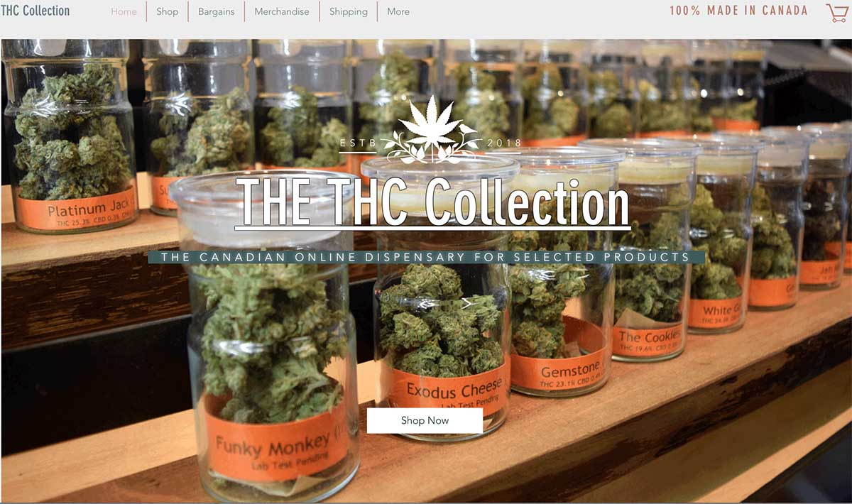 THC Collection coupon code and reviews