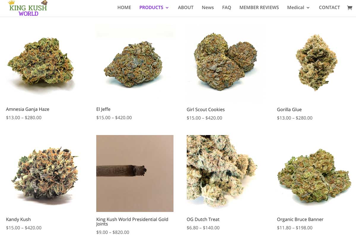 King Kush World review and coupon codes