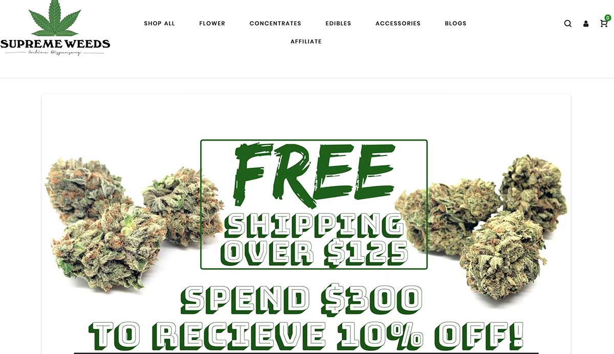 SupremeWeeds review and SupremeWeeds coupon codes