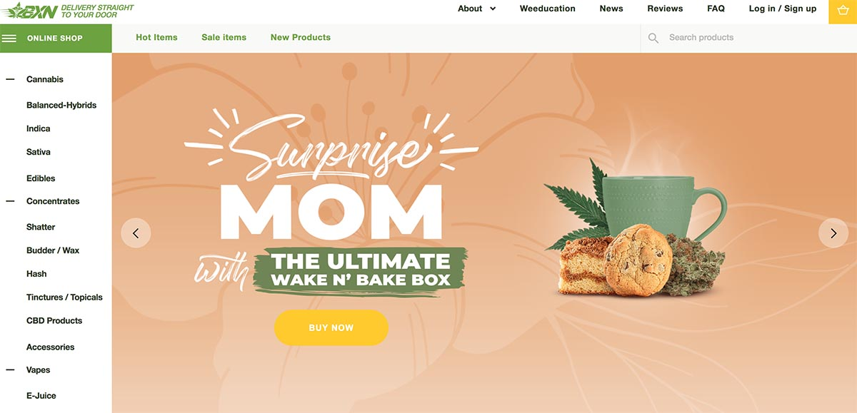 Review of BudExpressNOW, an online dispensary from British Columbia.