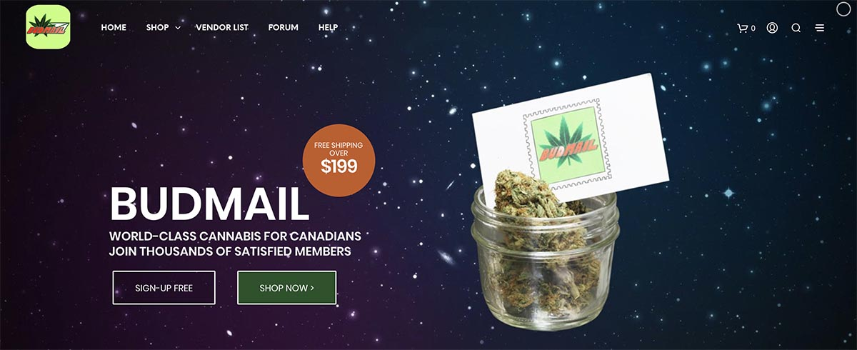 Review and coupon codes from the Budmail online dispensary.