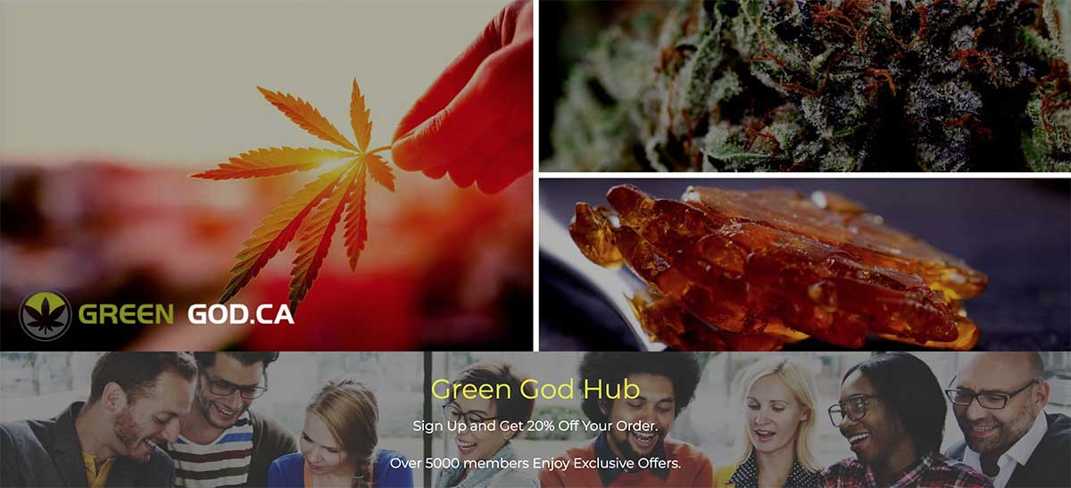 Green God review and 35%-40% coupon codes.