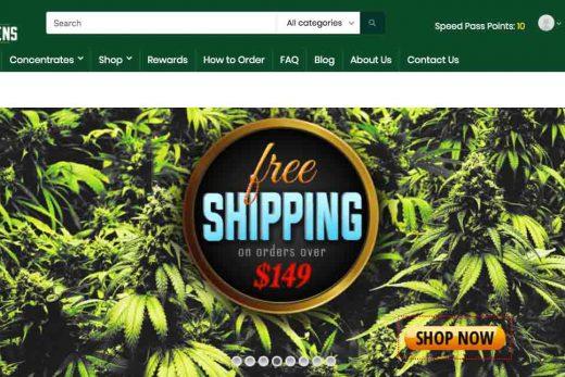 Review of online dispensary SpeedGreens.