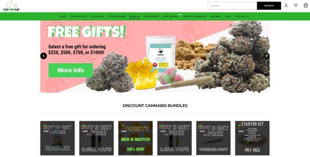 Buy cannabis at Buy My Bud online dispensary
