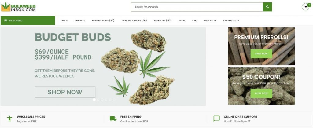 Click here to shop at Bulk Weed Inbox