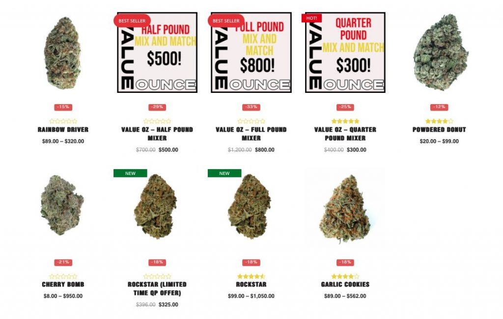 value ounces at Low Price Bud dispensary